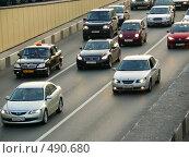 Купить «Несколько машин на дороге», фото № 490680, снято 2 октября 2008 г. (c) Исаев Михаил / Фотобанк Лори