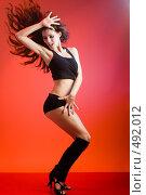 Купить «Современный танец», фото № 492012, снято 8 сентября 2008 г. (c) Константин Юганов / Фотобанк Лори