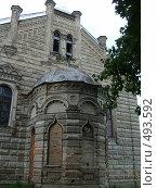 Один из фасадов синагоги в Гродно (2006 год). Стоковое фото, фотограф Римма Радшун / Фотобанк Лори