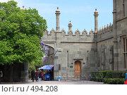 Купить «Крым Воронцовский дворец», эксклюзивное фото № 494208, снято 29 апреля 2008 г. (c) Дмитрий Неумоин / Фотобанк Лори