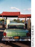 Купить «Старый автомобиль. Куба», эксклюзивное фото № 494416, снято 3 июня 2020 г. (c) Free Wind / Фотобанк Лори