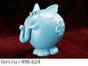 Игрушка синий слон, фото № 496624, снято 16 апреля 2006 г. (c) Александр Максимов / Фотобанк Лори
