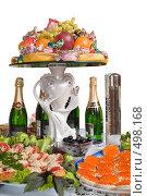 Купить «Фуршет. Сервировка праздничного стола.», фото № 498168, снято 4 октября 2008 г. (c) Федор Королевский / Фотобанк Лори