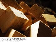 Деревянные кубики. Стоковое фото, фотограф Диана Иванкова / Фотобанк Лори