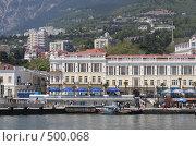 Купить «Отдых в отеле на черноморском побережье, город Ялта», эксклюзивное фото № 500068, снято 1 мая 2008 г. (c) Дмитрий Неумоин / Фотобанк Лори