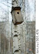 Купить «Скворечник», фото № 501476, снято 7 октября 2008 г. (c) Пастухов Максим Владимирович / Фотобанк Лори