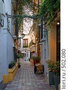 Купить «Испания. Старые улицы города Марбелья.», фото № 502080, снято 24 сентября 2008 г. (c) Валерий Ситников / Фотобанк Лори