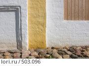 Купить «Фрагмент старой стены», фото № 503096, снято 6 сентября 2008 г. (c) Юрий Синицын / Фотобанк Лори