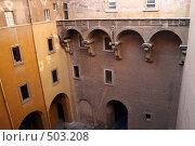 Ватикан, двор Сикстинской капеллы (2006 год). Стоковое фото, фотограф Петр Бюнау / Фотобанк Лори