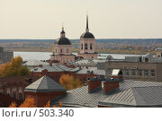 Купить «Старый Томск», фото № 503340, снято 2 октября 2008 г. (c) Андрей Николаев / Фотобанк Лори