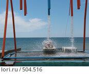 Купить «Водный массаж», фото № 504516, снято 3 июля 2008 г. (c) Назаренко Ольга / Фотобанк Лори