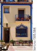 Купить «Испанский дворик», фото № 505584, снято 15 июля 2008 г. (c) Николай Винокуров / Фотобанк Лори