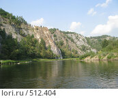 Купить «Горная река», фото № 512404, снято 16 августа 2008 г. (c) Александр Тёмин / Фотобанк Лори