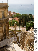 Купить «Дворец Римского наместника Таррагона Испания», эксклюзивное фото № 513692, снято 20 июля 2008 г. (c) Николай Винокуров / Фотобанк Лори
