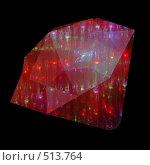 Купить «Искрящийся красный кристалл», иллюстрация № 513764 (c) Владимир Сергеев / Фотобанк Лори