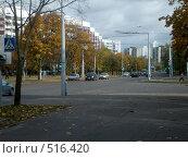Купить «Улица осенью», фото № 516420, снято 13 октября 2008 г. (c) Римма Радшун / Фотобанк Лори