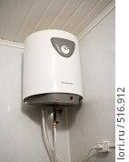 Купить «Вариант установки водонагревателя Ariston в ванной комнате», фото № 516912, снято 18 октября 2008 г. (c) Денис Шароватов / Фотобанк Лори