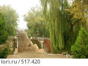 Купить «Старая каменная лестница», фото № 517420, снято 15 октября 2008 г. (c) Игорь Струков / Фотобанк Лори