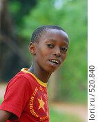 Купить «Юный африканец», фото № 520840, снято 24 февраля 2008 г. (c) Марина Коробанова / Фотобанк Лори