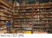 Купить «На складе», фото № 521956, снято 8 сентября 2008 г. (c) Владимир Воякин / Фотобанк Лори