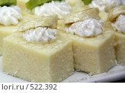Купить «Пирожные», фото № 522392, снято 12 октября 2008 г. (c) Людмила Травина / Фотобанк Лори