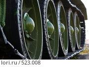Трак танка. Стоковое фото, фотограф Александр Тимофеев / Фотобанк Лори