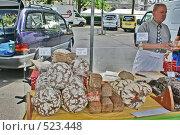 Купить «Деревенский хлеб», фото № 523448, снято 27 июня 2008 г. (c) Купченко Владимир Михайлович / Фотобанк Лори
