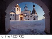 Купить «Ферапонтов монастырь зимой», фото № 523732, снято 16 февраля 2008 г. (c) Александр Максимов / Фотобанк Лори