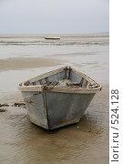 Купить «Рыбацкая лодка», фото № 524128, снято 21 сентября 2008 г. (c) Владимир Власов / Фотобанк Лори