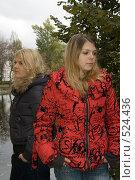 Купить «Поссорились», фото № 524436, снято 11 октября 2008 г. (c) Влад Нордвинг / Фотобанк Лори