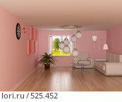 Купить «Интерьер комнаты», иллюстрация № 525452 (c) Ильин Сергей / Фотобанк Лори