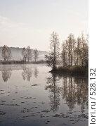 Осенний пейзаж. Восход солнца., фото № 528132, снято 8 октября 2008 г. (c) Юрий Бельмесов / Фотобанк Лори