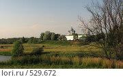 Храм в Суздале. Стоковое фото, фотограф Алексей Падерин / Фотобанк Лори