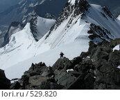 Путь к вершине (2008 год). Редакционное фото, фотограф Елена Чердынцева / Фотобанк Лори
