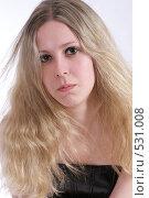 Купить «Портрет красивой девушки», фото № 531008, снято 17 мая 2008 г. (c) Варвара Воронова / Фотобанк Лори