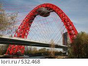 Купить «Живописный мост . Москва», фото № 532468, снято 18 января 2000 г. (c) Наталья Волкова / Фотобанк Лори