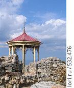 Купить «Ротонда в Херсонесе», фото № 532476, снято 24 сентября 2008 г. (c) Анатолий Заводсков / Фотобанк Лори