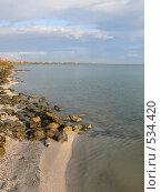 Купить «Каменистый берег», фото № 534420, снято 8 октября 2008 г. (c) Роман Мельник / Фотобанк Лори