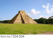 Купить «Пирамида майя», фото № 534504, снято 9 декабря 2007 г. (c) Гараев Александр / Фотобанк Лори