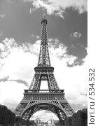 Купить «Эйфелева башня», фото № 534532, снято 22 июля 2007 г. (c) Александр Чермянин / Фотобанк Лори