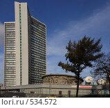 Купить «Здание мэрии Москвы», эксклюзивное фото № 534572, снято 26 октября 2008 г. (c) Виктор Тараканов / Фотобанк Лори