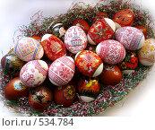 Купить «Пасхальные яйца», фото № 534784, снято 25 апреля 2008 г. (c) Юлия Сайганова / Фотобанк Лори