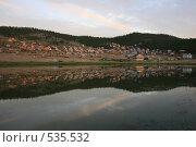 Турбаза Зуун-Хагун, озеро Байкал. Стоковое фото, фотограф Дарья Киселева / Фотобанк Лори