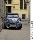 Ретроавтомобиль. Ситроен (2008 год). Редакционное фото, фотограф Николаенкова Светлана / Фотобанк Лори