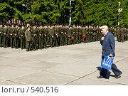 Военная присяга. Ветеран (2008 год). Редакционное фото, фотограф Шахов Андрей / Фотобанк Лори