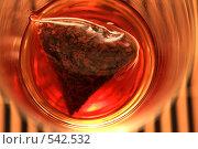 Купить «Черный чай в пакетиках», фото № 542532, снято 11 октября 2008 г. (c) Александр Лесик / Фотобанк Лори