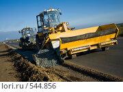 Купить «Дорожное строительство», фото № 544856, снято 23 сентября 2008 г. (c) Александр Черемнов / Фотобанк Лори