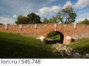 Купить «Мост в парке Царицыно», фото № 545748, снято 29 сентября 2008 г. (c) Юрий Беляков / Фотобанк Лори