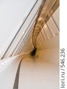 Купить «Пешеходный мост Bridge», фото № 546236, снято 7 июля 2008 г. (c) Андрей Короткевич / Фотобанк Лори