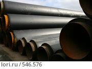Купить «Склад завода по изготовлению труб», фото № 546576, снято 29 августа 2006 г. (c) Александр Секретарев / Фотобанк Лори